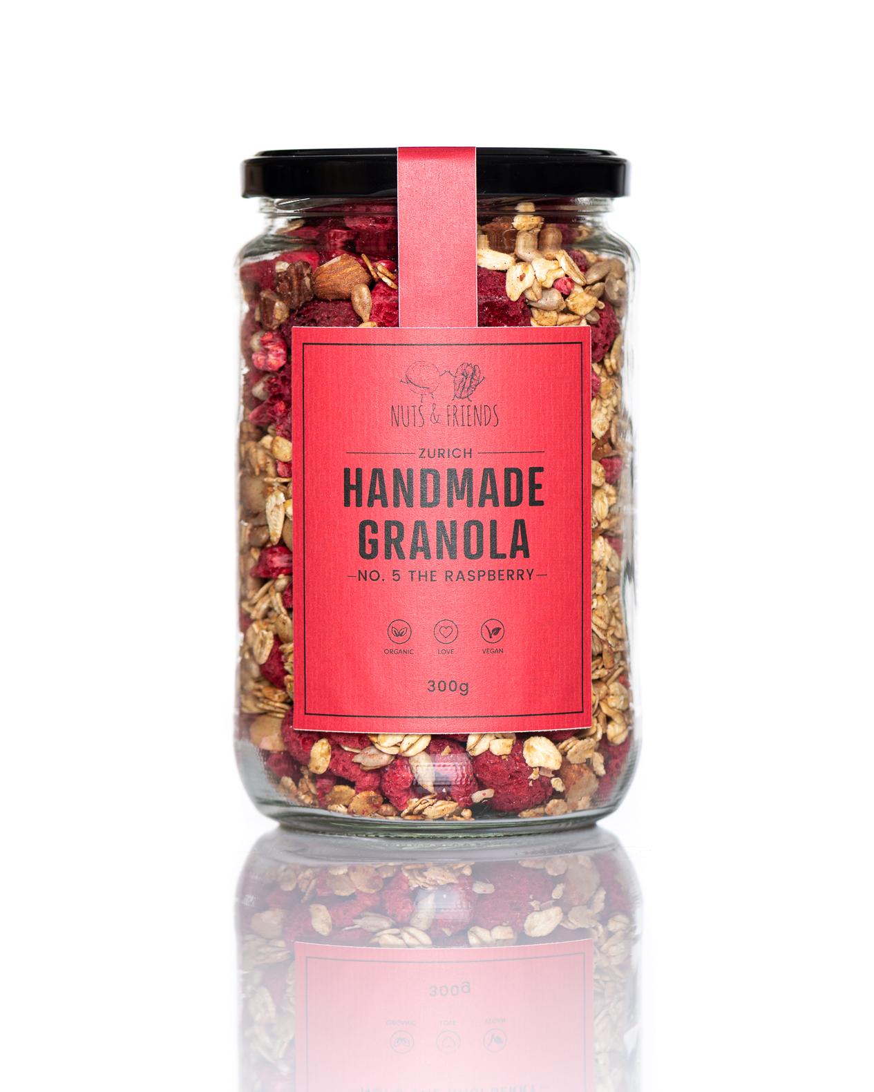 Granola Bio fait maison THE RASPBERRY SET
