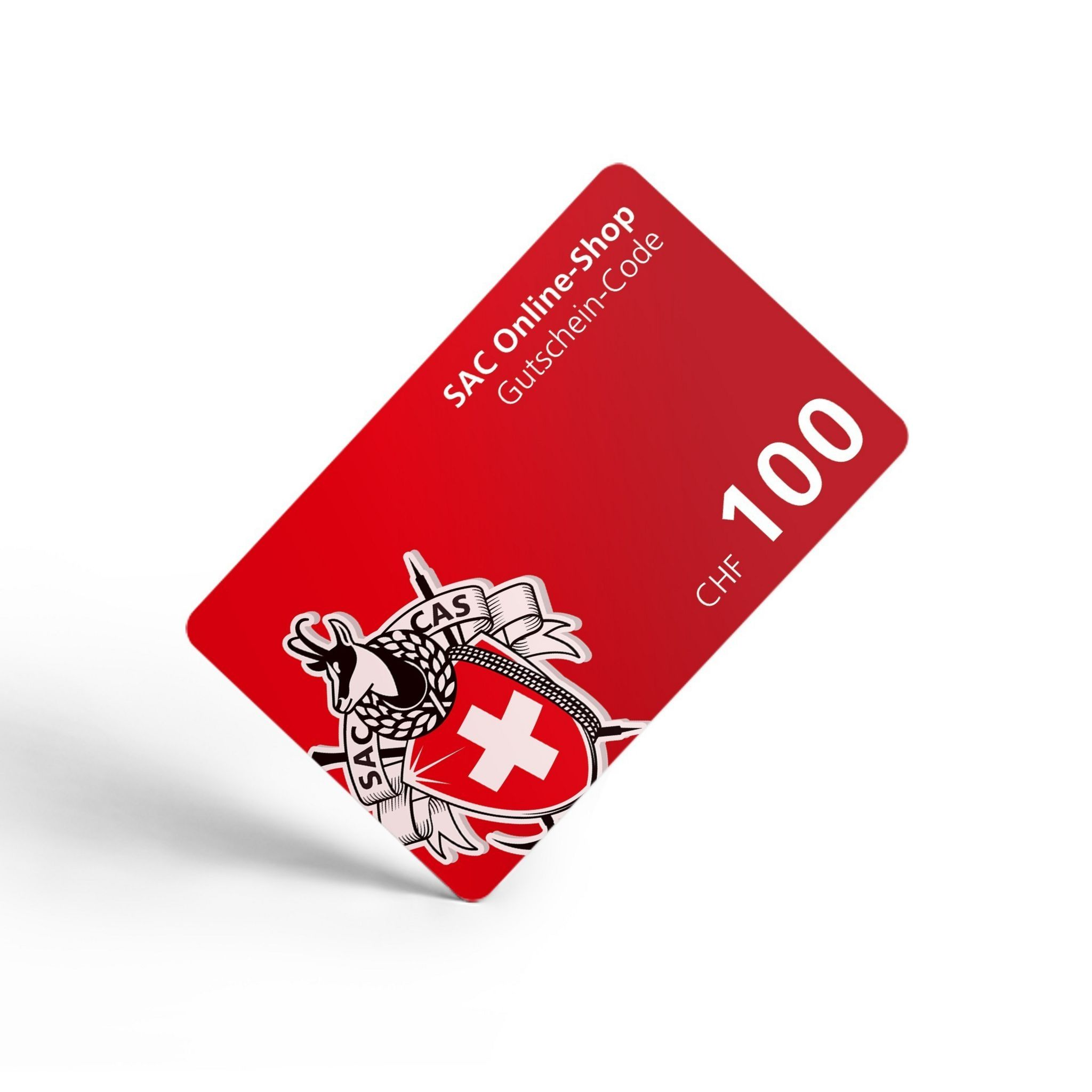 Gutschein SAC - Schweizer Alpen Club