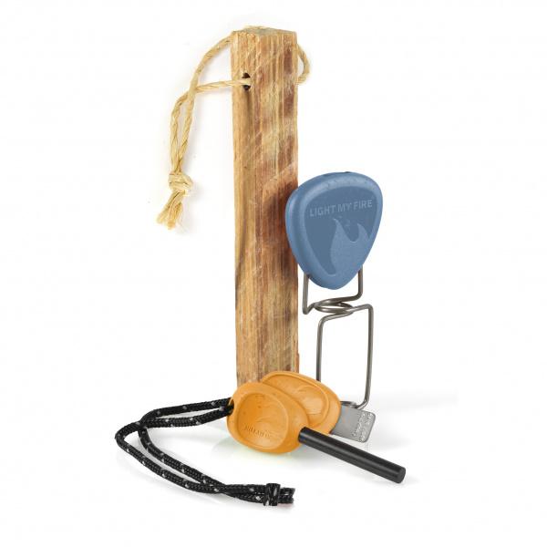 Firelighting Kit Bio - Hazyblue/Rustyorange