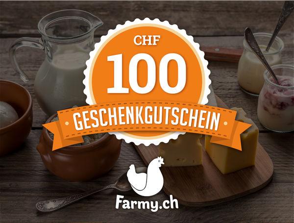 Gutschein farmy CHF 100.00